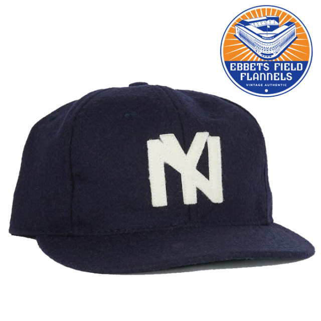 EBBETS FIELD FLANNELS(エベッツフィールドフランネルズ) Brooklyn Eagles 1935 Cap 【キャップ 帽子】