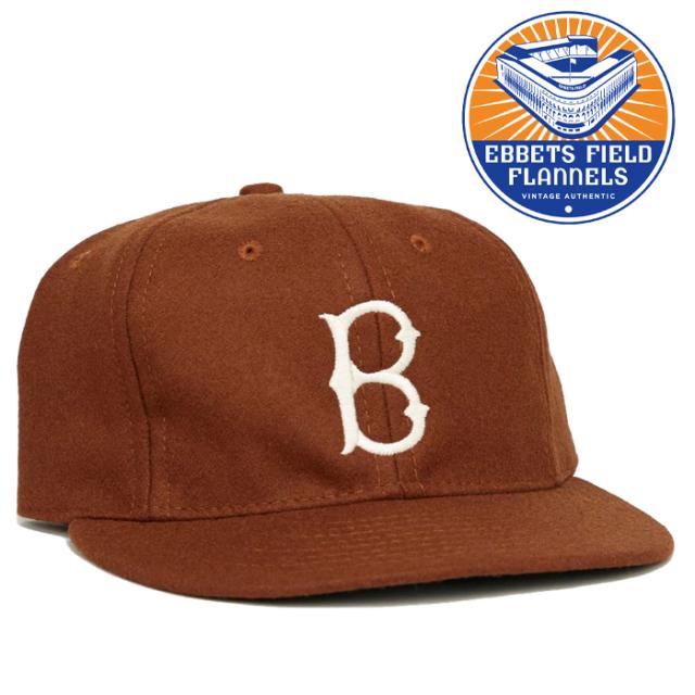 EBBETS FIELD FLANNELS(エベッツフィールドフランネルズ) Brwn Univ 1959 Cap 【キャップ 帽子】