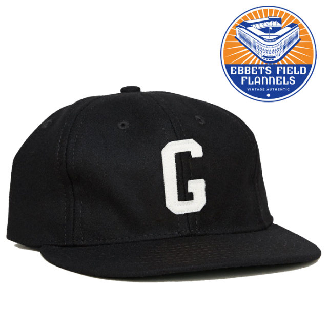 EBBETS FIELD FLANNELS(エベッツフィールドフランネルズ) Homsted Grays 1945 Cap 【キャップ 帽子】