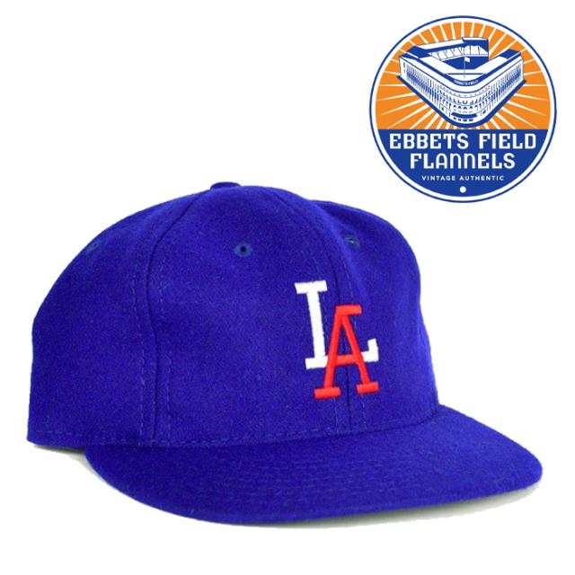 EBBETS FIELD FLANNELS(エベッツフィールドフランネルズ) LA Angels 1956 Cap 【キャップ 帽子】