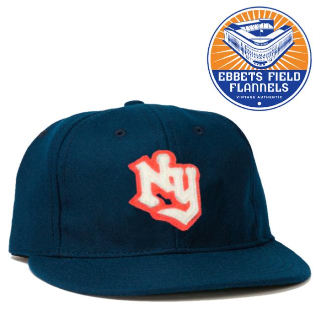EBBETS FIELD FLANNELS(エベッツフィールドフランネルズ) NY Knights 1939 Cap 【キャップ 帽子】