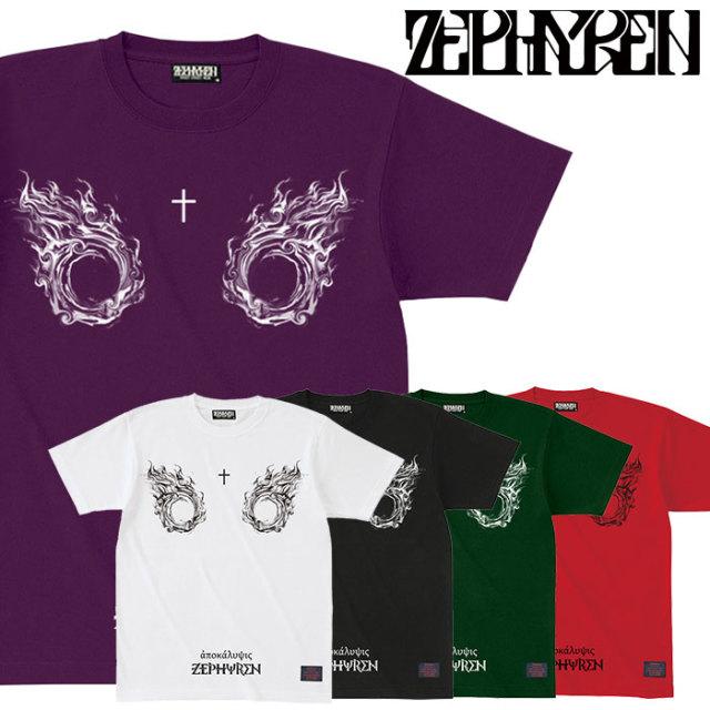 ZEPHYREN(ゼファレン) S/S TEE - apocalypse - 【2019AUTUMN/WINTER先行予約】 【キャンセル不可】【Z19UL34】【Tシャツ】