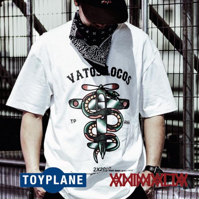 ANIMALIA(アニマリア) x TOYPLANE(トイプレーン) VIPER PLANE S/S 【Tシャツ 半袖】【1STコラボレーション 先行予約】【AT-TE01】