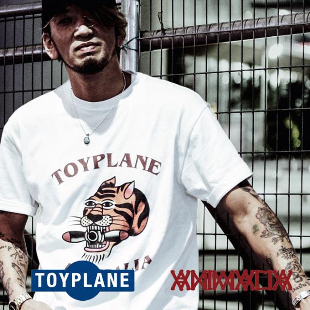 ANIMALIA(アニマリア) x TOYPLANE(トイプレーン) PLOP TIGER S/S 【Tシャツ 半袖】【1STコラボレーション 先行予約】【AT-TE02】【