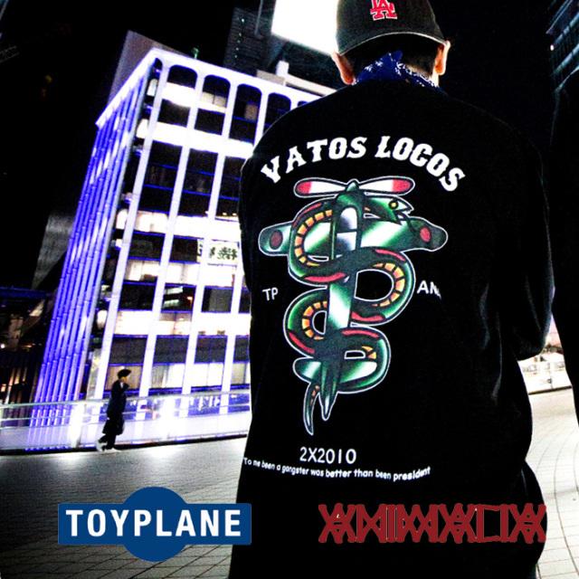 ANIMALIA(アニマリア) x TOYPLANE(トイプレーン) VIPER PLANE L/S 【Tシャツ 長袖】【1STコラボレーション 先行予約】【AT-TE03】