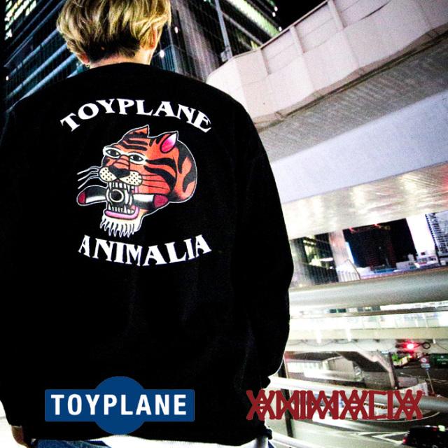 ANIMALIA(アニマリア) x TOYPLANE(トイプレーン) PLOP TIGER L/S 【Tシャツ 長袖】【1STコラボレーション 先行予約】【AT-TE04】【