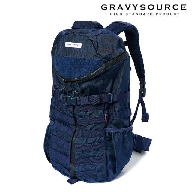 GRAVYSOURCE(グレイヴィーソース) BACK PACK 【2019SUMMER/AUTUMN先行予約】【キャンセル不可】 【GS19-HAC04】【バックパック】