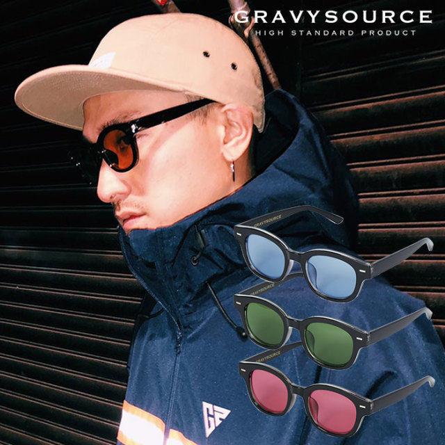 GRAVYSOURCE(グレイヴィーソース) RICHARD SHADE 【2019SUMMER/AUTUMN新作】 【GS19-NAC08】【サングラス】