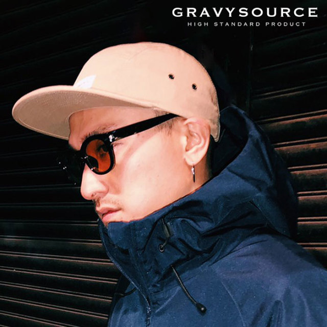 【SALE40%OFF】 GRAVYSOURCE(グレイヴィーソース) CAMP CAP 【キャップ 帽子】【セール】 【2019SUMMER/AUTUMN新作】【GS19-NCP