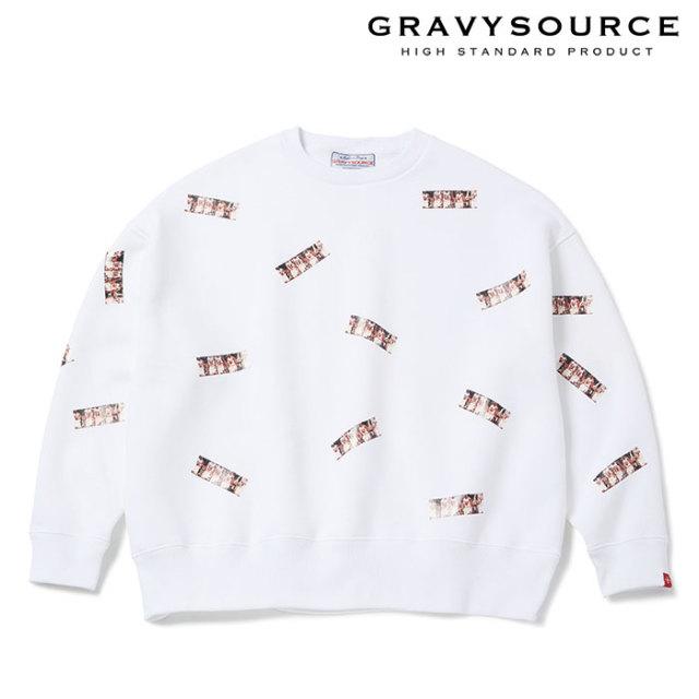 GRAVYSOURCE(グレイヴィーソース) GOLDEN AGE BIG CREWNECK 【2019SUMMER/AUTUMN先行予約】【キャンセル不可】 【GS19-NSW01】【