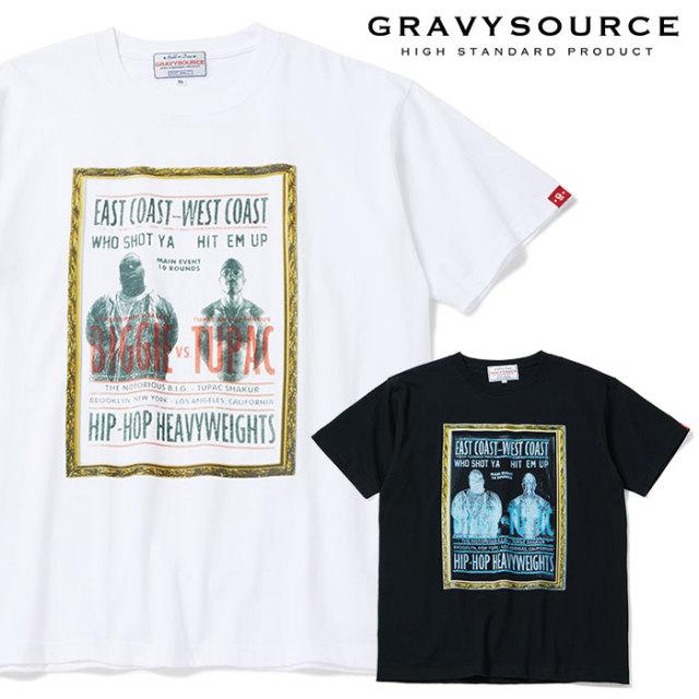 GRAVYSOURCE(グレイヴィーソース) HEAVYWEIGHT TEE 【2019SUMMER/AUTUMN先行予約】【キャンセル不可】 【GS19-NTE03】【Tシャツ】