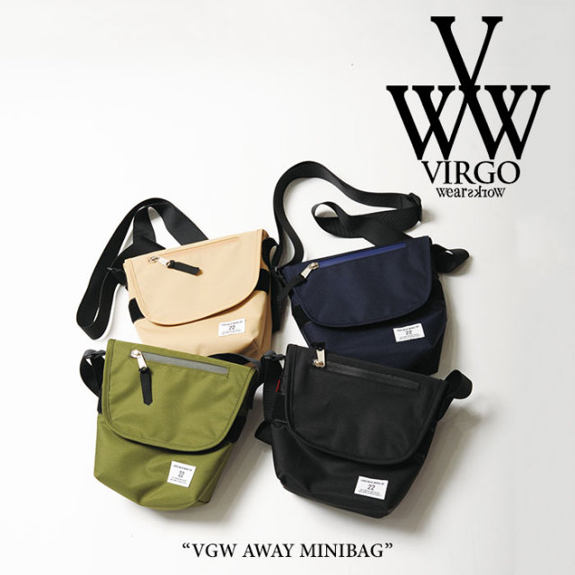 【SALE】 VIRGO(ヴァルゴ) VGW AWAY MINIBAG 【2018SPRING/SUMMER 1st collection新作】 【即発送可能】 【VG-GD-525】