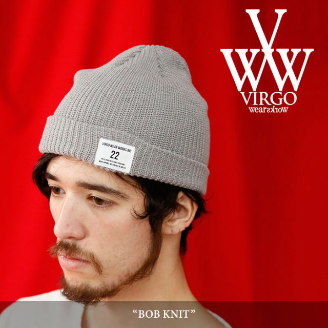 VIRGO(ヴァルゴ) BOB KNIT 【2018SPRING/SUMMER 1st collection先行予約】 【キャンセル不可】 【VG-GD-528】