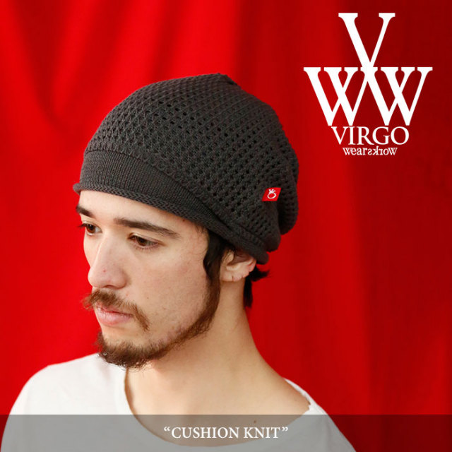 【SALE】 VIRGO(ヴァルゴ) CUSHION KNIT 【2018SPRING/SUMMER 1st collection新作】 【VG-GD-529】