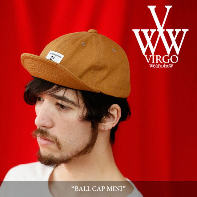 VIRGO(ヴァルゴ) BALL CAP MINI 【2018SPRING/SUMMER 1st collection先行予約】 【キャンセル不可】 【VG-GD-530】