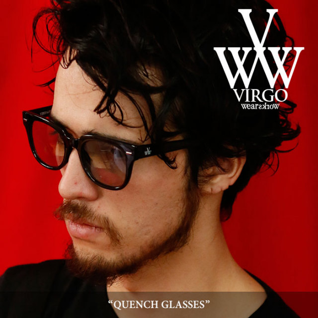 【SALE】 VIRGO(ヴァルゴ) QUENCH GLASSES 【2018SPRING/SUMMER 1st collection新作】 【VG-GD-536】