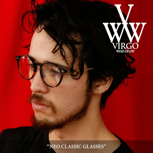 【SALE】 VIRGO(ヴァルゴ) NEO CLASSIC GLASSES 【2018SPRING/SUMMER 1st collection新作】 【VG-GD-537】
