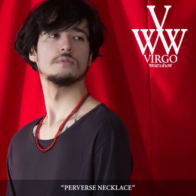 VIRGO(ヴァルゴ) PERVERSE NECKLACE 【2018SPRING/SUMMER 1st collection先行予約】 【キャンセル不可】 【VG-GD-539】