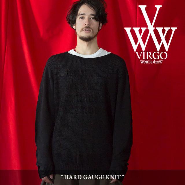 VIRGO(ヴァルゴ) HARD GAUGE KNIT 【2018SPRING/SUMMER 1st collection先行予約】 【送料無料】【キャンセル不可】 【VG-KNIT-70