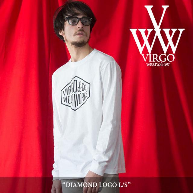 【SALE】 VIRGO(ヴァルゴ) DIAMOND LOGO L/S 【2018SPRING/SUMMER 1st collection新作】 【即発送可能】 【VG-LSPT-51】