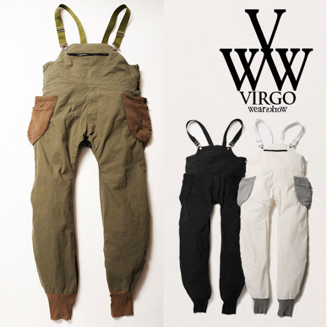 【SALE$0%OFF】 VIRGO(ヴァルゴ) VGW SUPREME OVERALL 【2018SPRING/SUMMER 1st collection新作】 【セール】【VG-PT-281】
