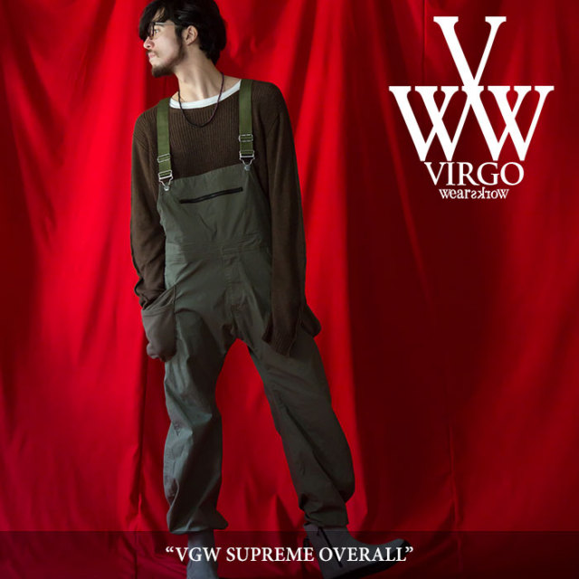 【SALE】 VIRGO(ヴァルゴ) VGW SUPREME OVERALL 【2018SPRING/SUMMER 1st collection新作】 【VG-PT-281】