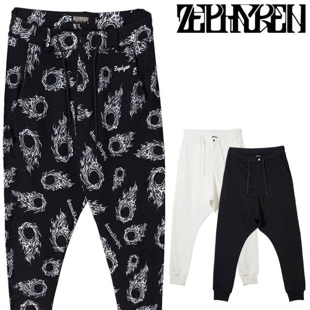 ZEPHYREN(ゼファレン) SAROUEL SWEAT PANTS  【2019AUTUMN/WINTER先行予約】 【キャンセル不可】【Z18AQ06】【スウェットパンツ】