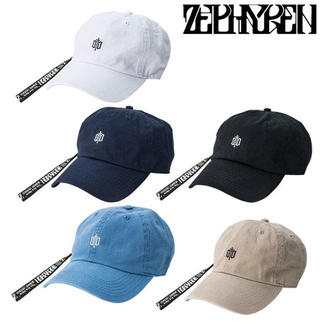 ZEPHYREN(ゼファレン) LONG STRAP LO CAP -ENGRAVE -  【2019AUTUMN/WINTER先行予約】 【キャンセル不可】【Z18PS01】【キャップ