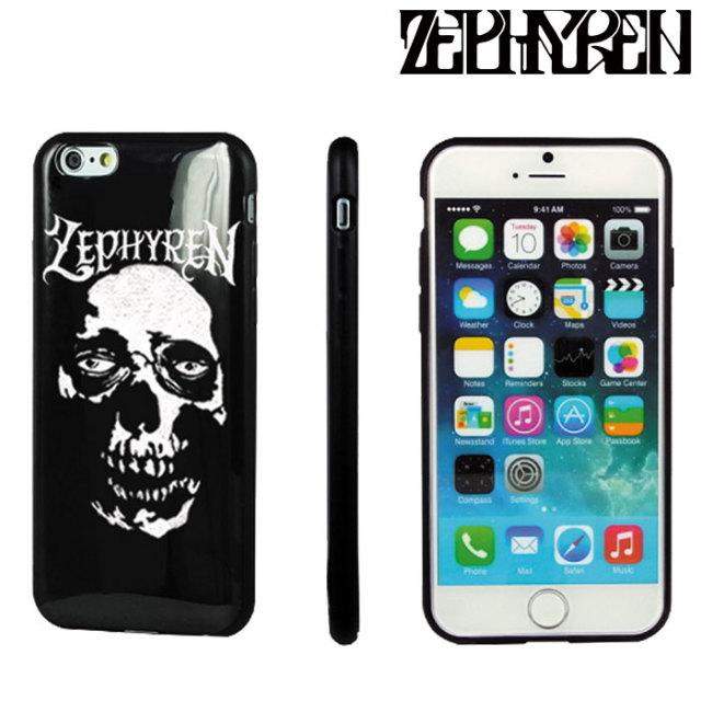 ZEPHYREN(ゼファレン) Zephyren iPhone CASE -SkullHead-  【2019AUTUMN/WINTER先行予約】 【キャンセル不可】【Z18PX02】【IPhon