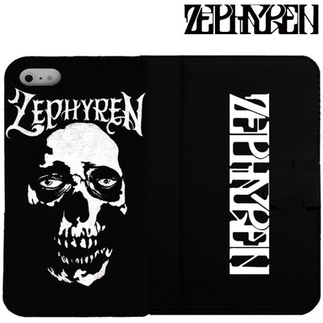ZEPHYREN(ゼファレン) FLIP iPhone CASE -SkullHead-  【2019AUTUMN/WINTER先行予約】 【キャンセル不可】【Z18PX05】【IPhoneケ