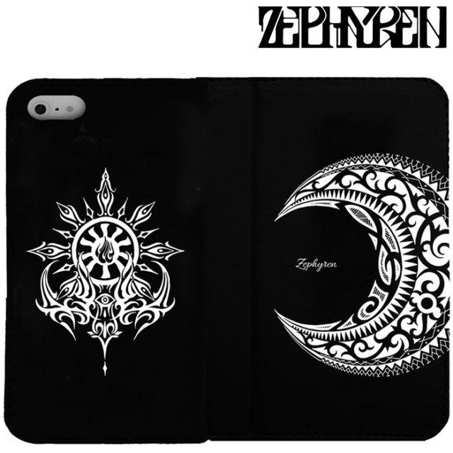 ZEPHYREN(ゼファレン) FLIP iPhone CASE -MOON-  【2019AUTUMN/WINTER先行予約】 【キャンセル不可】【Z18PX07】【IPhoneケース】