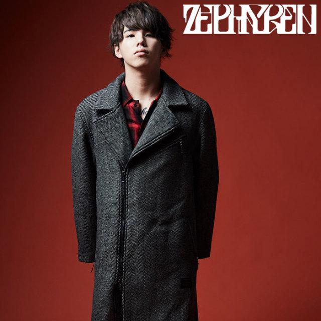 ZEPHYREN(ゼファレン) RIDERS MELTON COAT 【2019AUTUMN/WINTER先行予約】 【キャンセル不可】【Z19AB16】【メルトンコート】