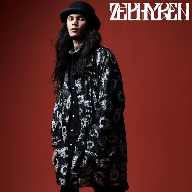 ZEPHYREN(ゼファレン) NYLON MODS COAT 【2019AUTUMN/WINTER先行予約】 【キャンセル不可】【Z19AA04】【モッズコート】
