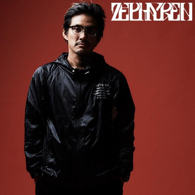 ZEPHYREN(ゼファレン) NYLON  HOOD 【2019AUTUMN/WINTER先行予約】 【キャンセル不可】【Z19AA05】【ナイロンコート】