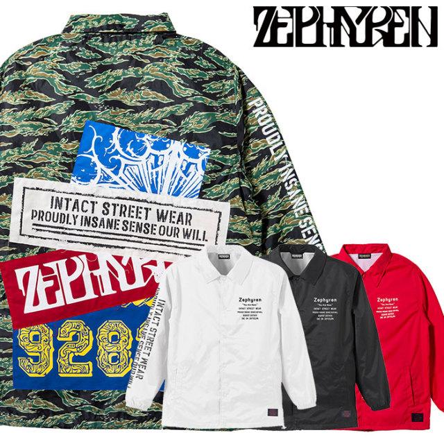 ZEPHYREN(ゼファレン) COACH JACKET-Ingrain- 【2019AUTUMN/WINTER先行予約】 【キャンセル不可】【Z19AA09】【コーチジャケット