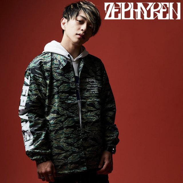 ZEPHYREN(ゼファレン) COACH JACKET- BUNNY/ TATTOO - 【2019AUTUMN/WINTER先行予約】 【キャンセル不可】【Z19AA10】【コーチジ