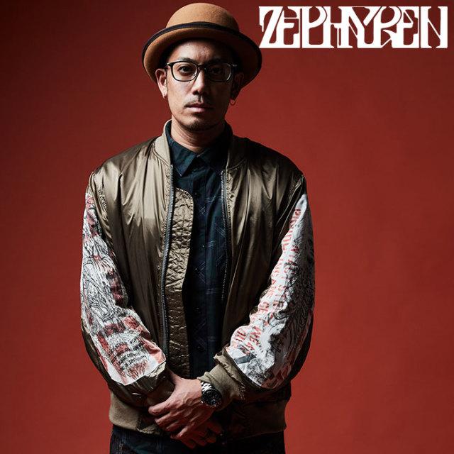 ZEPHYREN(ゼファレン) MA-1 【2019AUTUMN/WINTER先行予約】 【キャンセル不可】【Z19AB15】【MA-1】