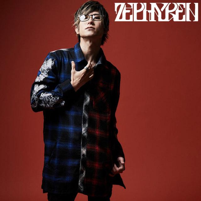 ZEPHYREN(ゼファレン) SWITCHING SHIRT L/S  【2019AUTUMN/WINTER先行予約】 【キャンセル不可】【Z19AD21】【シャツ】