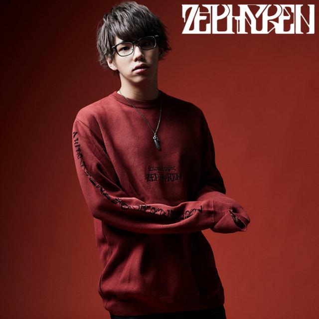 ZEPHYREN(ゼファレン) BIG JAGUARD KNIT  【2019AUTUMN/WINTER先行予約】 【キャンセル不可】【Z19AE31】【ニット】