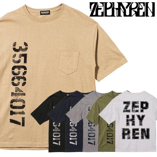 ZEPHYREN(ゼファレン) BIG TEE - oldschool - 【2019AUTUMN/WINTER先行予約】 【キャンセル不可】【Z19AL32】【Tシャツ】