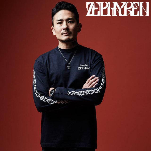 ZEPHYREN(ゼファレン) L/S TEE - apocalypse - 【2019AUTUMN/WINTER先行予約】 【キャンセル不可】【Z19AM37】【ロングスリーブT