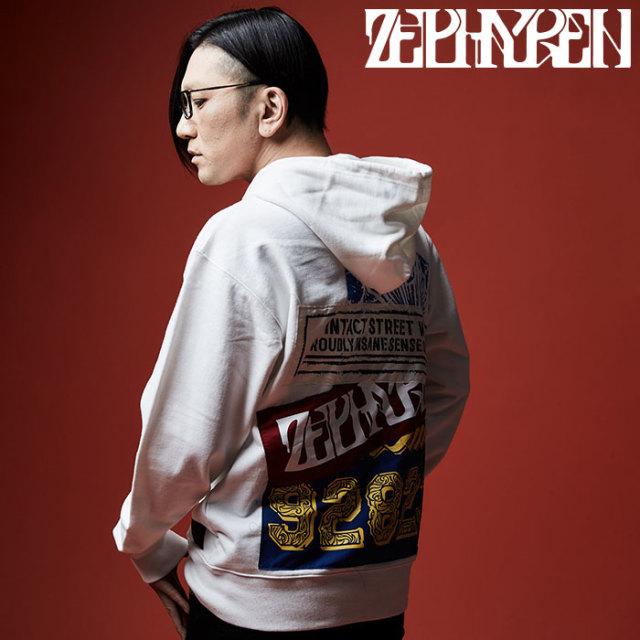 ZEPHYREN(ゼファレン) ZIP PARKA - Ingrain - 【2019AUTUMN/WINTER先行予約】 【キャンセル不可】【Z19AN38】【ジップパーカー】