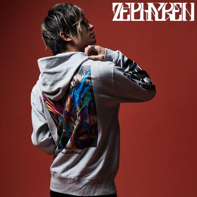 ZEPHYREN(ゼファレン) ZIP PARKA - GIRL TATTOO - 【2019AUTUMN/WINTER先行予約】 【キャンセル不可】【Z19AN40】【ジップパーカ