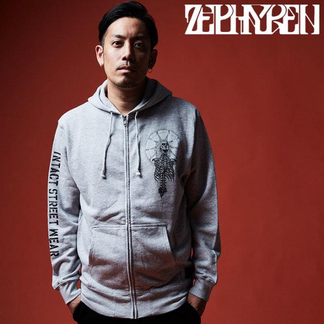 ZEPHYREN(ゼファレン) ZIP PARKA - As above,So below - 【2019AUTUMN/WINTER先行予約】 【キャンセル不可】【Z19AN42】【ジップ