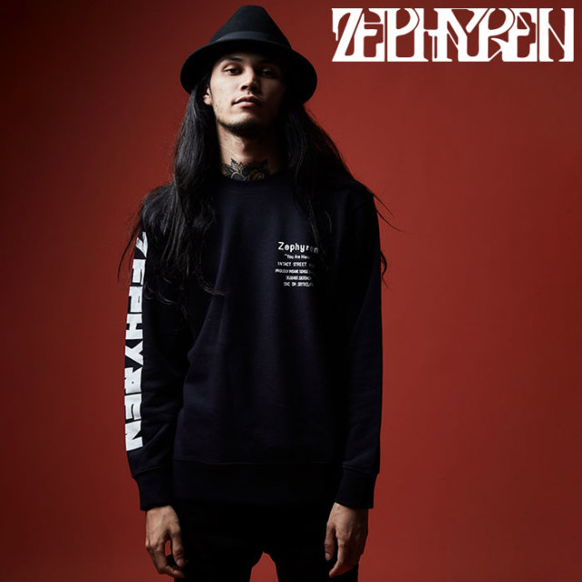 ZEPHYREN(ゼファレン) SWEAT - GIRL TATTOO - 【2019AUTUMN/WINTER先行予約】 【キャンセル不可】【Z19AO46】【スウェット】