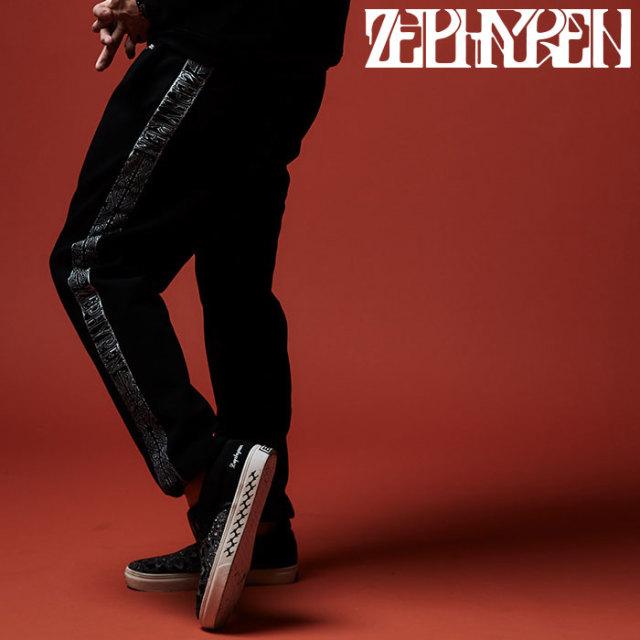 ZEPHYREN(ゼファレン) TAPE JERSEY PANTS  【2019AUTUMN/WINTER先行予約】 【キャンセル不可】【Z19AQ47】【ジャージ】【パンツ】