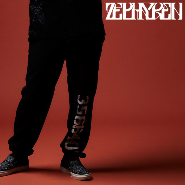 【SALE20%OFF】 ZEPHYREN(ゼファレン) SWEAT PANT - oldschool / apocalypse -  【2019AUTUMN/WINTER新作】【セール】【Z19AQ49】