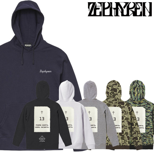 ZEPHYREN(ゼファレン) PARKA - Monolith - 【2019AUTUMN/WINTER先行予約】 【キャンセル不可】【Z19PN34】【パーカー】