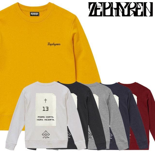 ZEPHYREN(ゼファレン) SWEAT - Monolith - 【2019AUTUMN/WINTER先行予約】 【キャンセル不可】【Z19PO36】【スウェット】