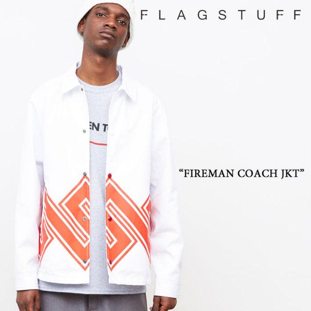 【SALE 40%OFF】F-LAGSTUF-F(フラグスタフ) FIREMAN COACH JKT 【F-LAGSTUF-F】【送料無料】 【フラグスタフ】【フラッグスタッフ